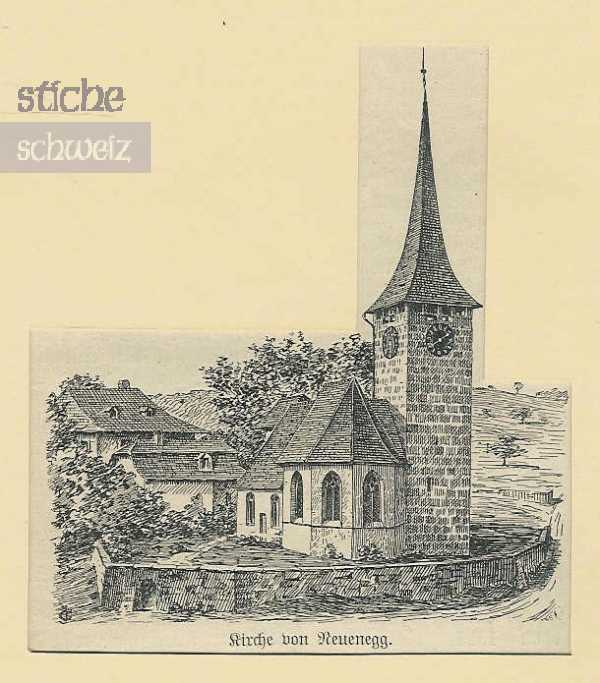 <p>Kirche von Neuenegg</p>