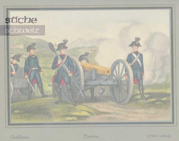 <p>Artillerie 1783 - 1804</p>