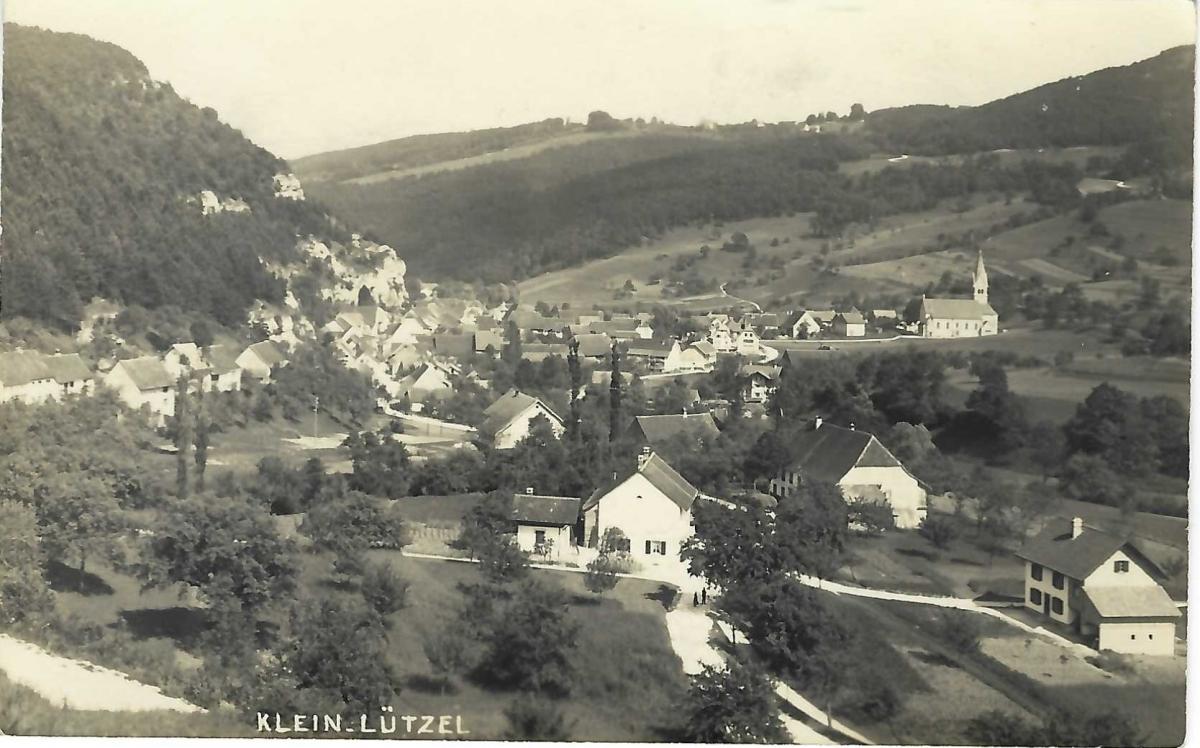<p>Klein Lützel , Karte Top Zustand</p>