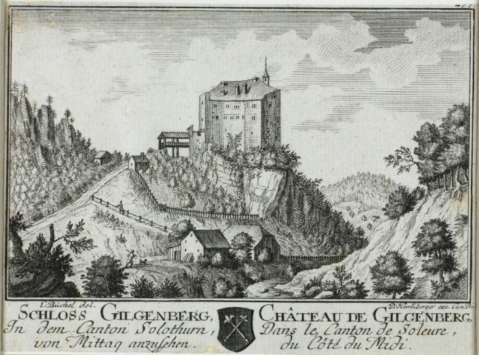 <p>324 Pl Nr. 277 Schloss Gilgenberg vom Mittag anzusehen</p>