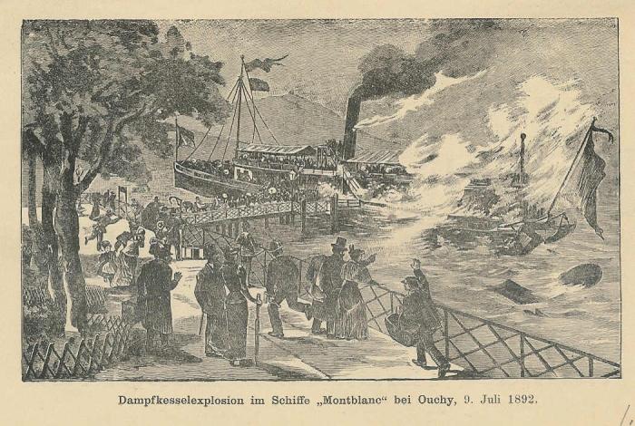 <p>304 Dampfschiff Montblanc Dampfkesselexplosion 9. juli1892</p>