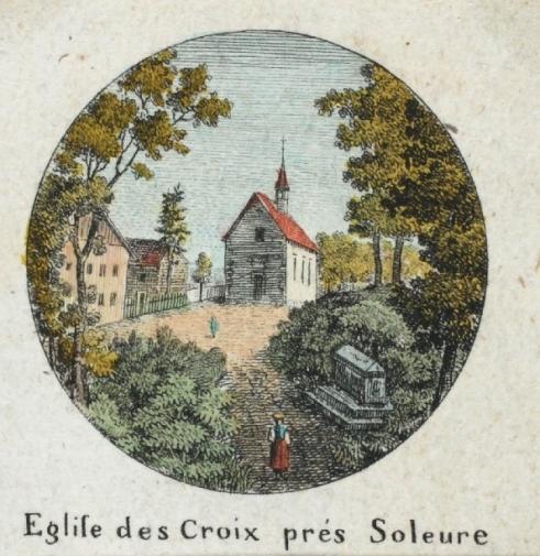 <p>499&nbsp; Eglise des Croix pr&eacute;s Solothurn&nbsp; R&uuml;ttenen</p>