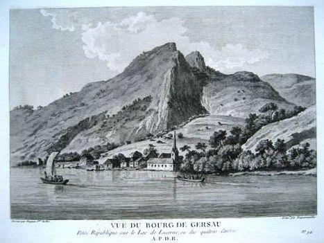 <p>331Zurlauben Vue du Bourg de Gersau</p>