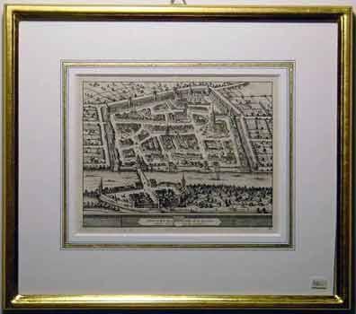 Stadtplan mit Rahmen